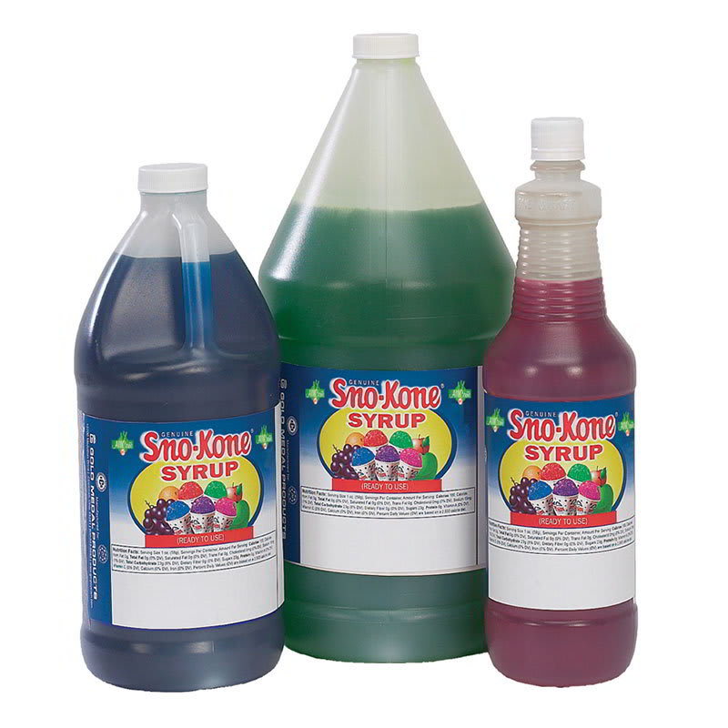Gold Medal 1052QT 1 qt Grape Snow Cone Syrup, Ready-To-Use