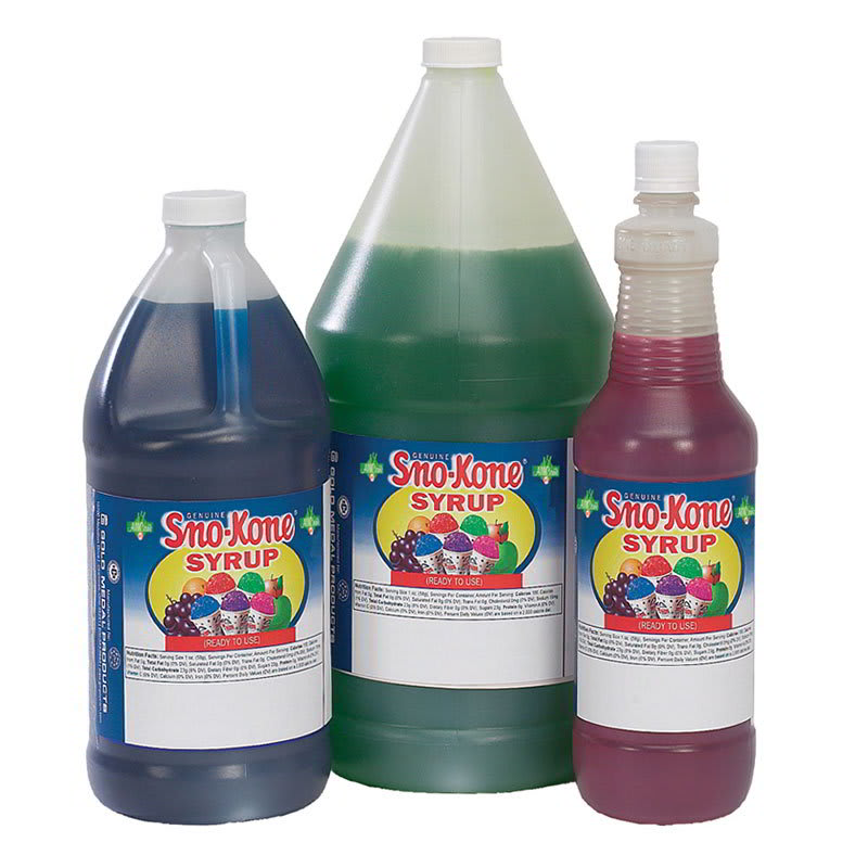 Gold Medal 1057 Ready-To-Use Flavor Syrup, Bubble Gum, (4) 1-Gallons/Case