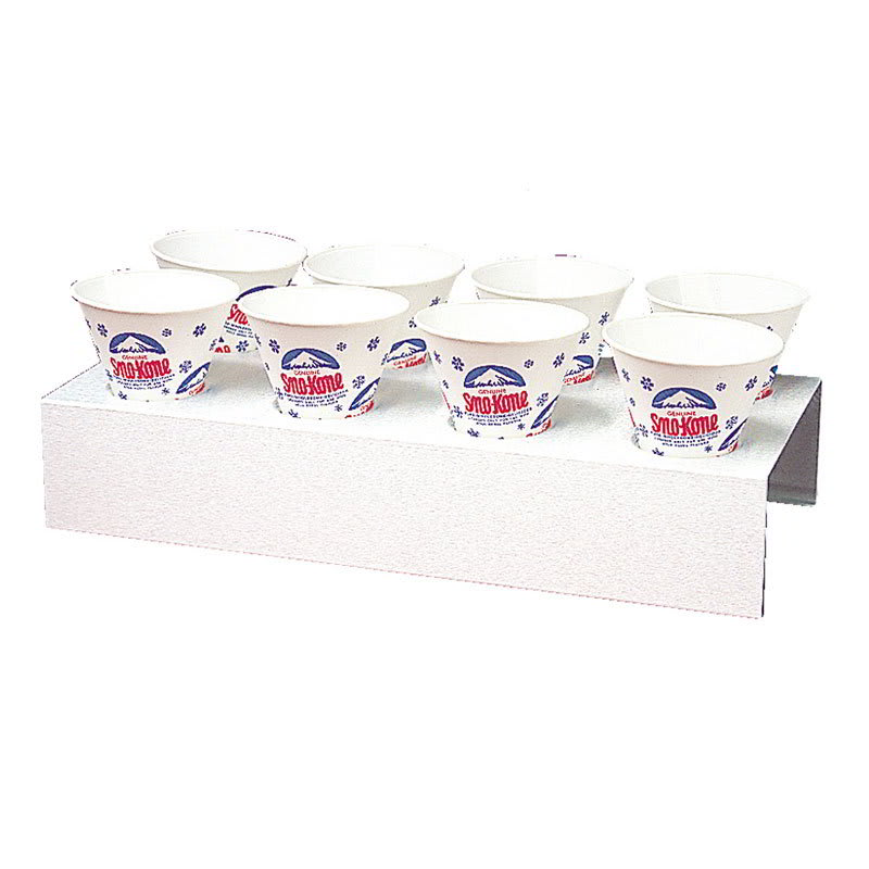 Gold Medal 1076 8-Cup Sno Kone Counter Tray, Aluminum