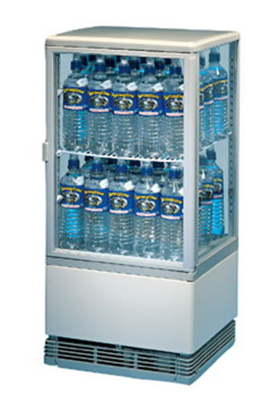 """Gold Medal 1118 17"""" Forced Air Bottle Cooler - Holds (40) Water Bottles, 115v"""