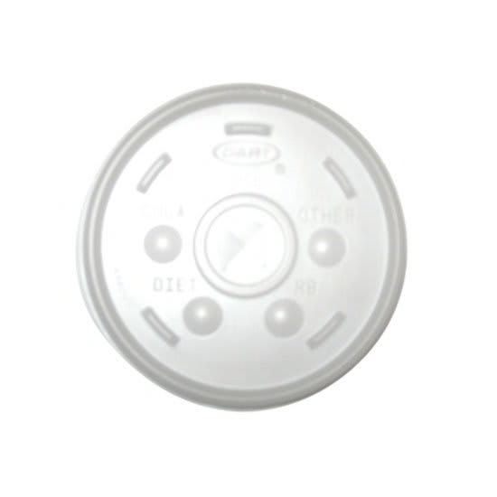 Gold Medal 1122L 12 oz Translucent Disposable Lids