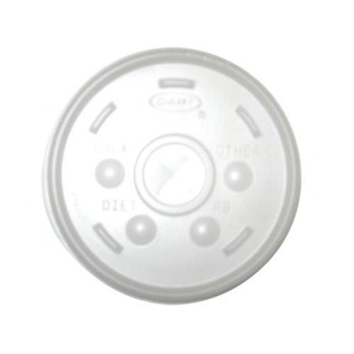 Gold Medal 1123L 16-oz Translucent Disposable Lids, 500/Case