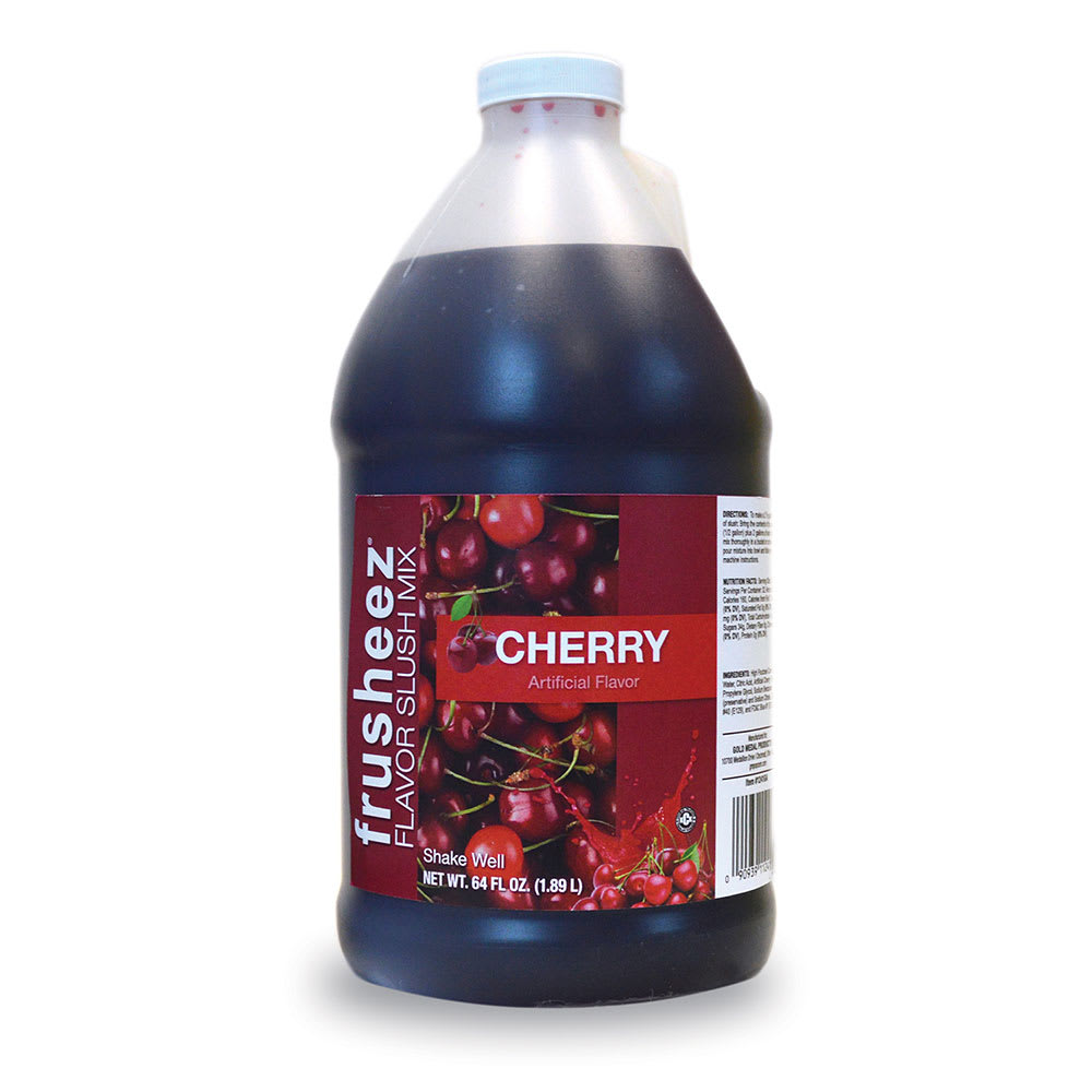 Gold Medal 1241 Frusheez Mix, Cherry, (6) 1/2 Gallons Per Case