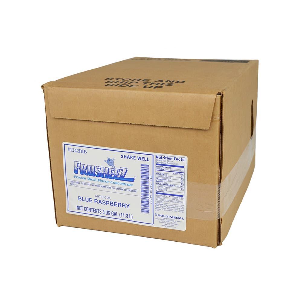 Gold Medal 1242BIB Frusheez Mix, Blue Raspberry, Bag In A Box