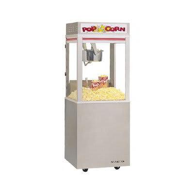 Gold Medal 2022E Astro Pop 16 Popcorn Machine w/ 16-oz Unimaxx Kettle & Stainless Dome, 120/208v
