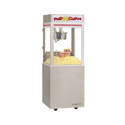 Gold Medal 2022E 120240 Astro Pop 16 Popcorn Machine w/ 16-oz Unimaxx Kettle & Stainless Dome, 120/240V