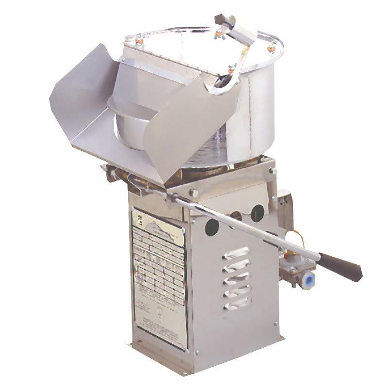 Gold Medal 2035BG 120208 Mighty Mite Popcorn Machine w/ (20) 16-oz/hr Capacity & Bottled Gas, 120/208V