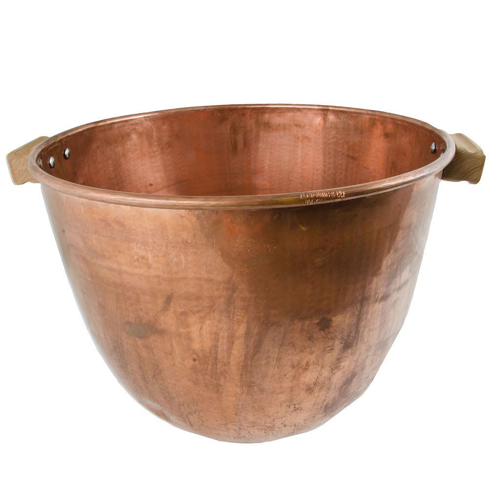 "Gold Medal 2081 19"" Caramel Corn Kettle w/ Handles, Copper"