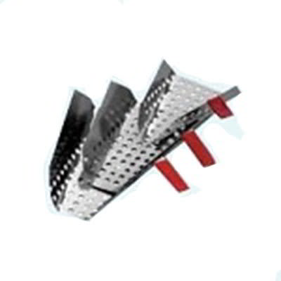 Gold Medal 2105 Large Right Handed Perforated Jet Scoop, Aluminum