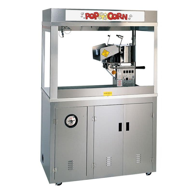 Gold Medal 2167EDN 120208 Cornado Popcorn Machine w/ 36-oz Kettle & Neon Dome, 120/208v