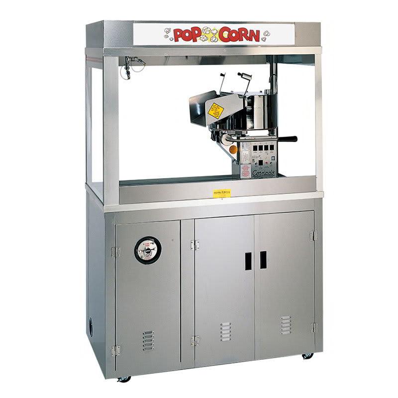 Gold Medal 2167EDN 120240 Cornado Popcorn Machine w/ 36-oz Kettle & Neon Dome, 120/240V
