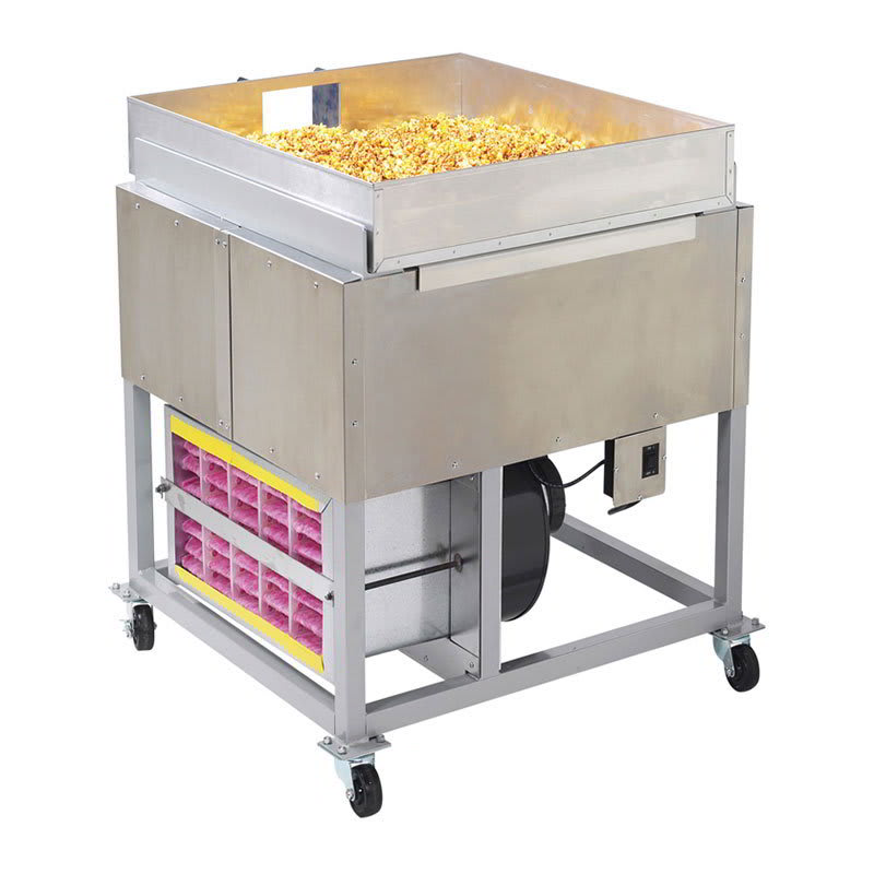 Gold Medal 2169KK Karamel Kool Regular Stand w/ Air Cooled Pan for 5 to 10 gal Mixers