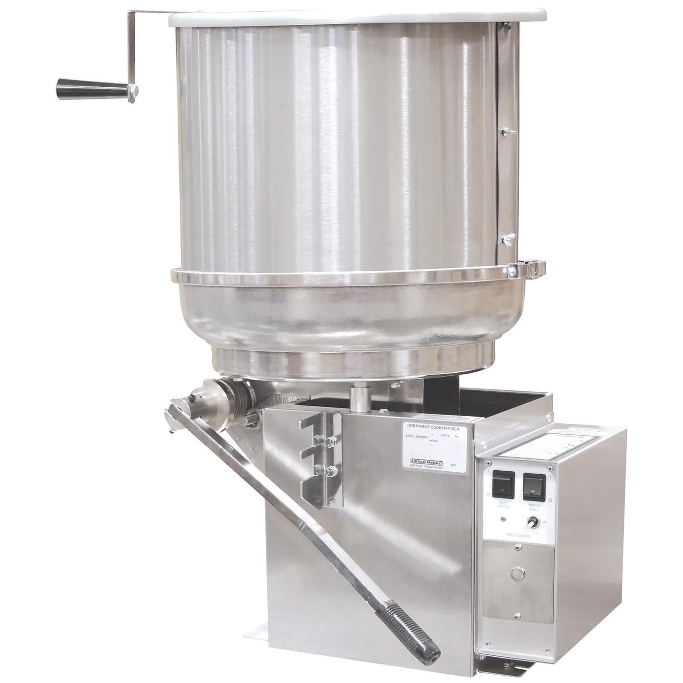 Gold Medal 2175ER Mark-5 Cooker Mixer w/ 5-gal Capacity & Right Hand Dump, 120/208V