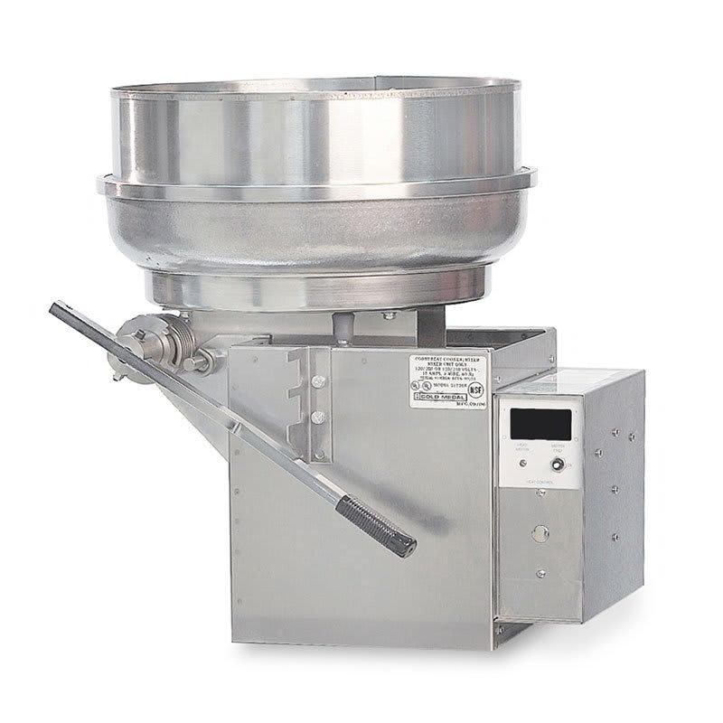 Gold Medal 2181ER Pralinator Frosted Nut Maker w/ 4-lb Capacity & Right Hand Dump, 120-208v