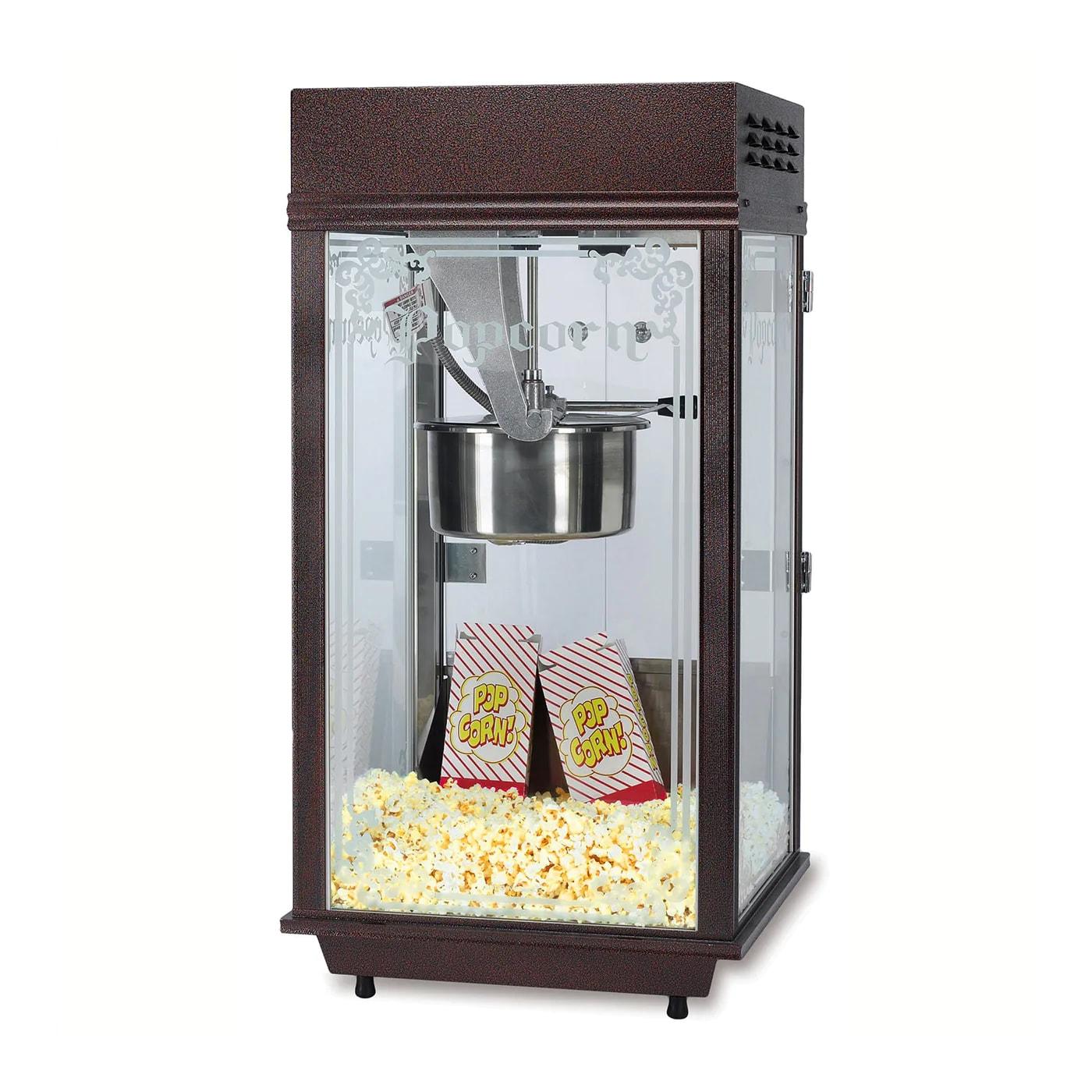 Gold Medal 2212 Mega Pop Popcorn Machine w/ 250 oz/hr Capacity & Copper Vein Finish, 120v