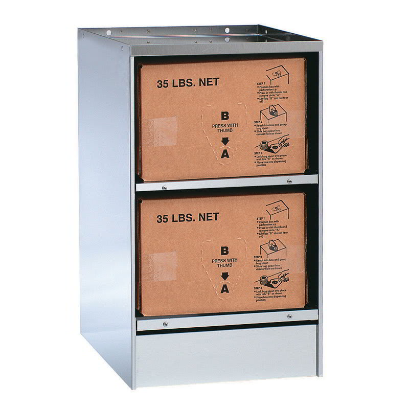 Gold Medal 2260 Bag-In-A-Box Warmer w/ 2-Box Capacity