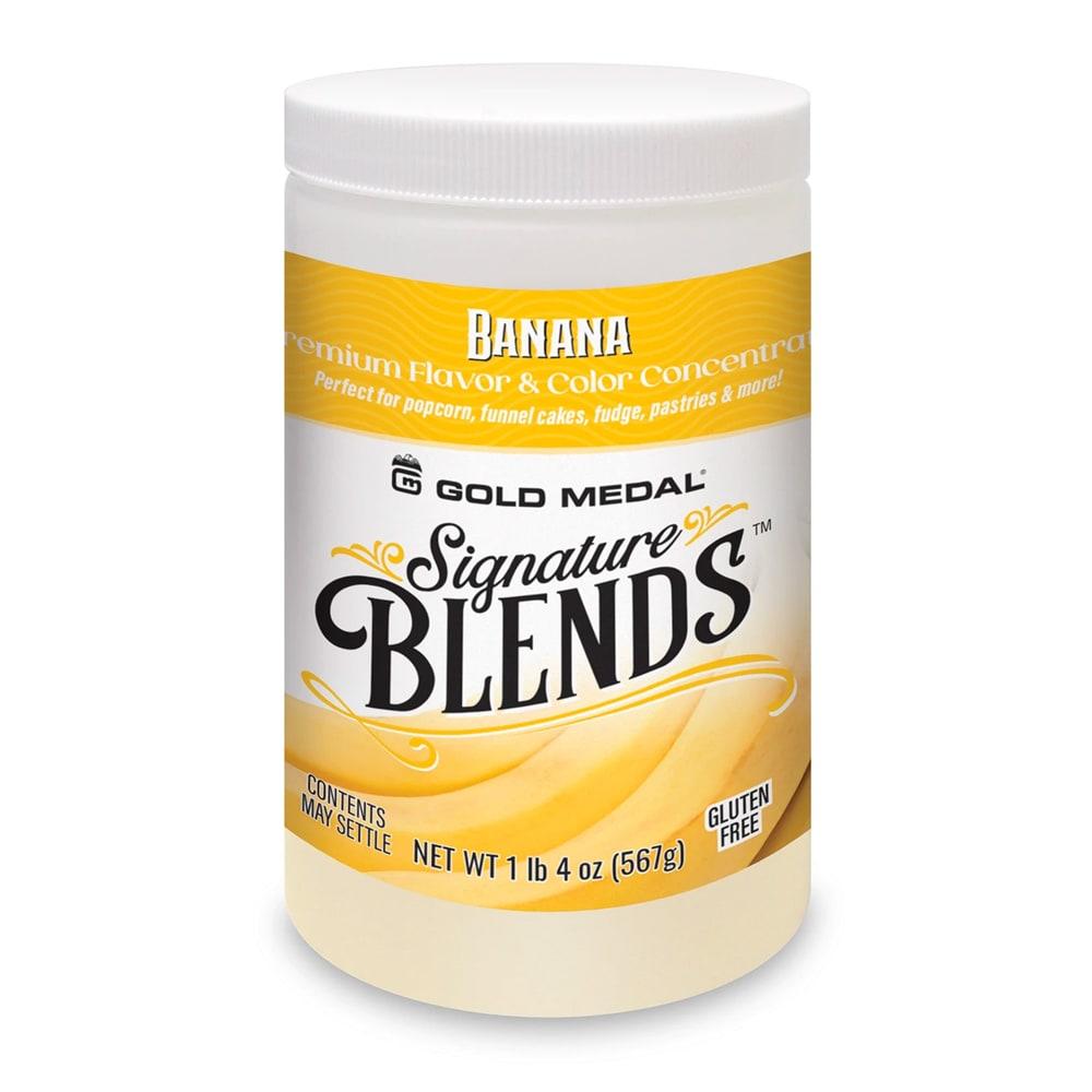 Gold Medal 2281 Candy Glaze Corn Treat Flavor Mixes, Banana