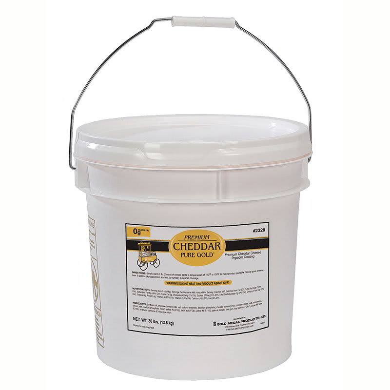 Gold Medal 2328 Cheddar Cheese Corn Paste Mix - 30-lb Tub