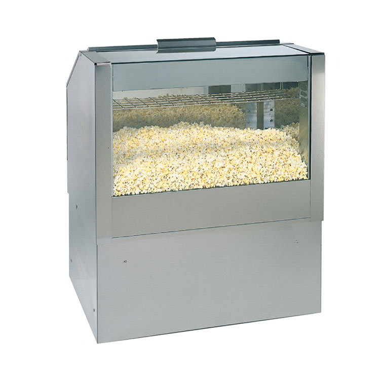 "Gold Medal 2344 36"" Back Counter Staging Cabinet w/ Popcorn Crisping System"