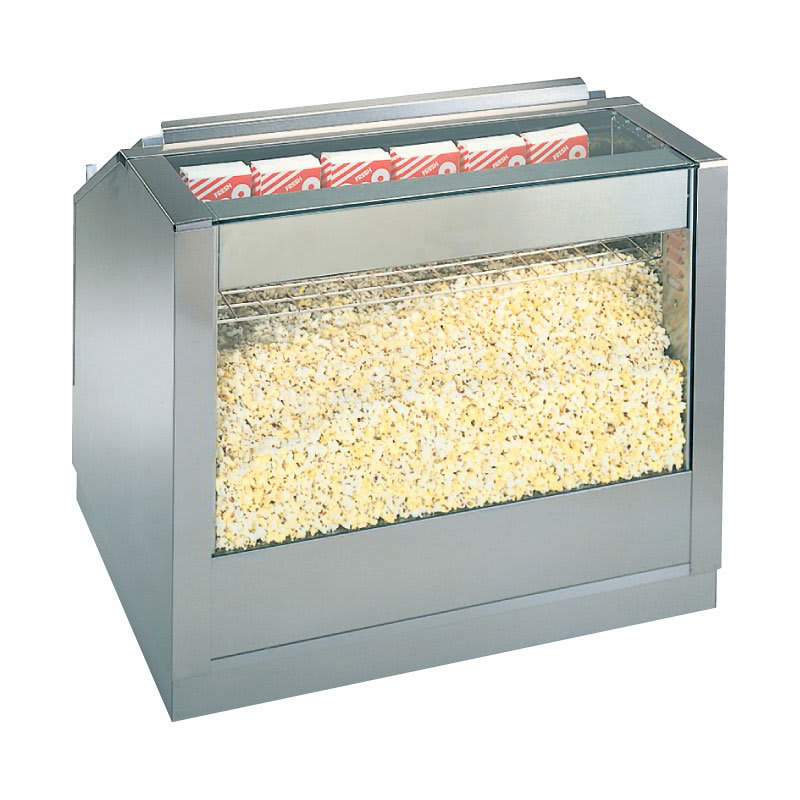 "Gold Medal 2345BSD 16"" Roller Base for 2345-Back Counter Popcorn Staging Cabinet"
