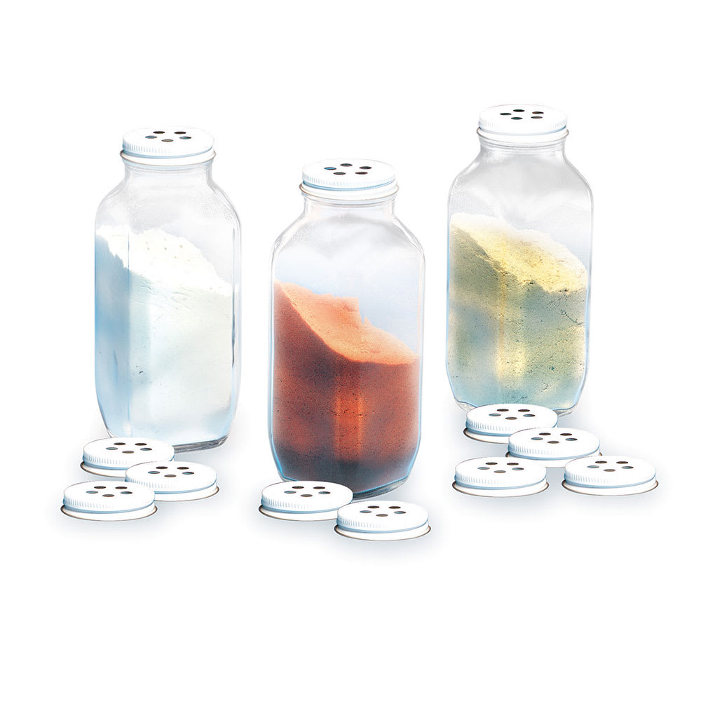 Gold Medal 2348 Savory Shaker Bottle Kit w/ 3-Bottles & 12-Shaker Lids