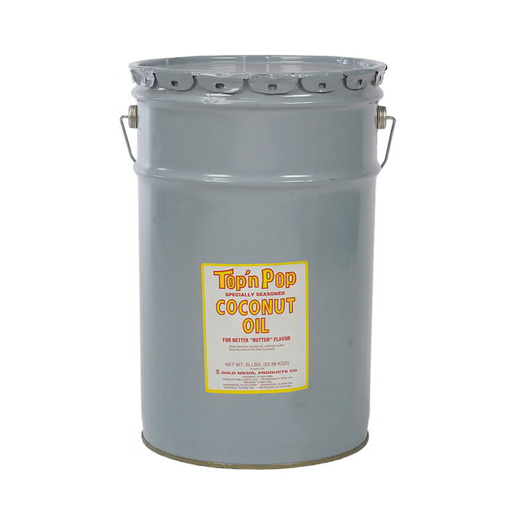 Gold Medal 2350 White Coconut Popping Oil, 50 lb Drum