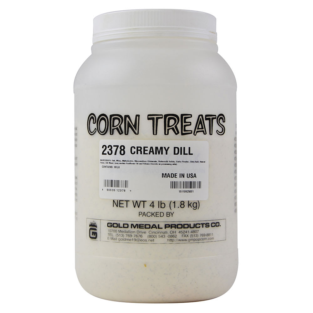 Gold Medal 2378 4 lb Shake-On Creamy Dill Flavor