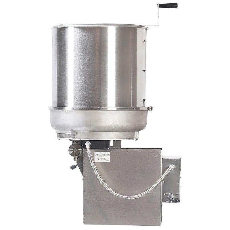 Gold Medal 2410E 120240 MARK-10 Cooker Mixer w/ Left Hand Dump & 40-lbs/hr Capacity, 120/240V