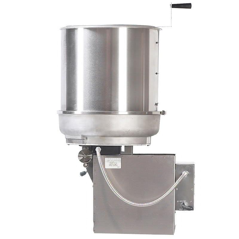 Gold Medal 2411E 120240 MARK-10 Cooker Mixer w/ Right Hand Dump & 40-lbs/hr Capacity, 120/240V