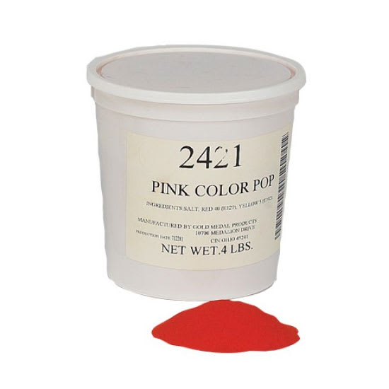 Gold Medal 2421 4-lb Pink Color-Pop Salt