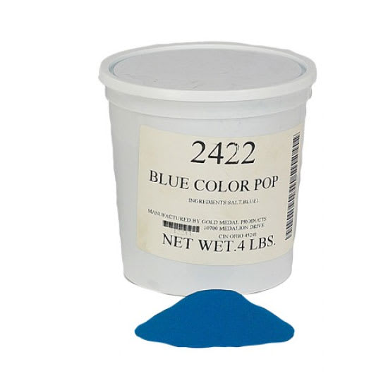 Gold Medal 2422 4-lb Blue Color-Pop Salt