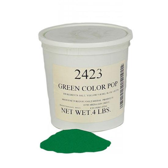 Gold Medal 2423 4-lb Green Color Pop Salt