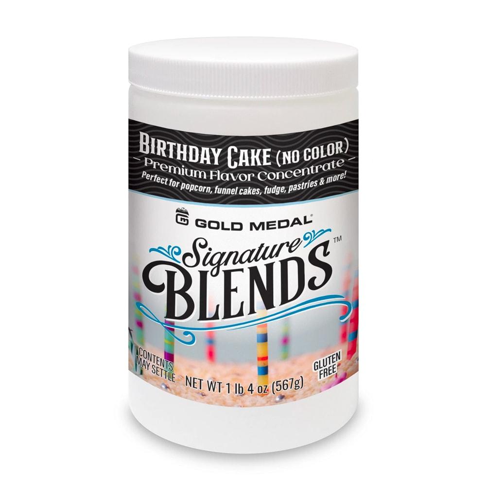 Gold Medal 2439 Birthday Cake Candy Glaze Corn Treat Mix