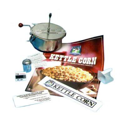 Gold Medal 2470 Retro Kettle Corn Kit w/ Thermostat, Measurer, Timer & Decals