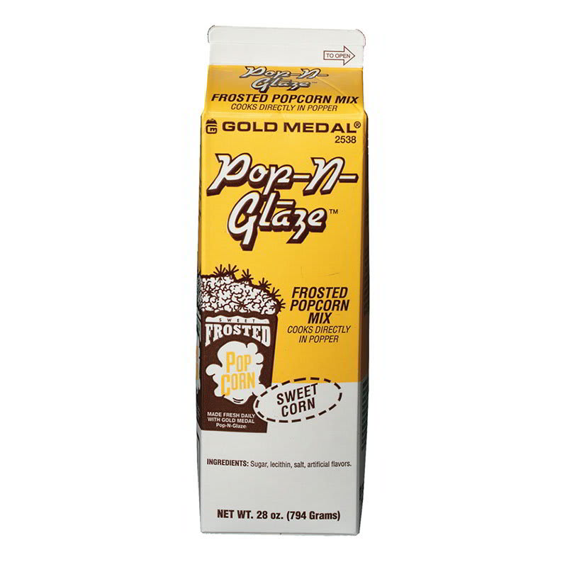 Gold Medal 2538 Sweet Frosted Popcorn Mix w/ (12) 28 oz Cartons