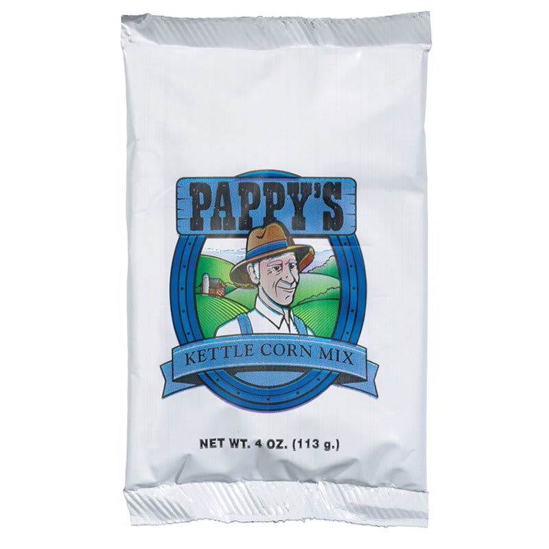 Gold Medal 2569 4 oz Pappys Kettle Corn Mix, 48/Case