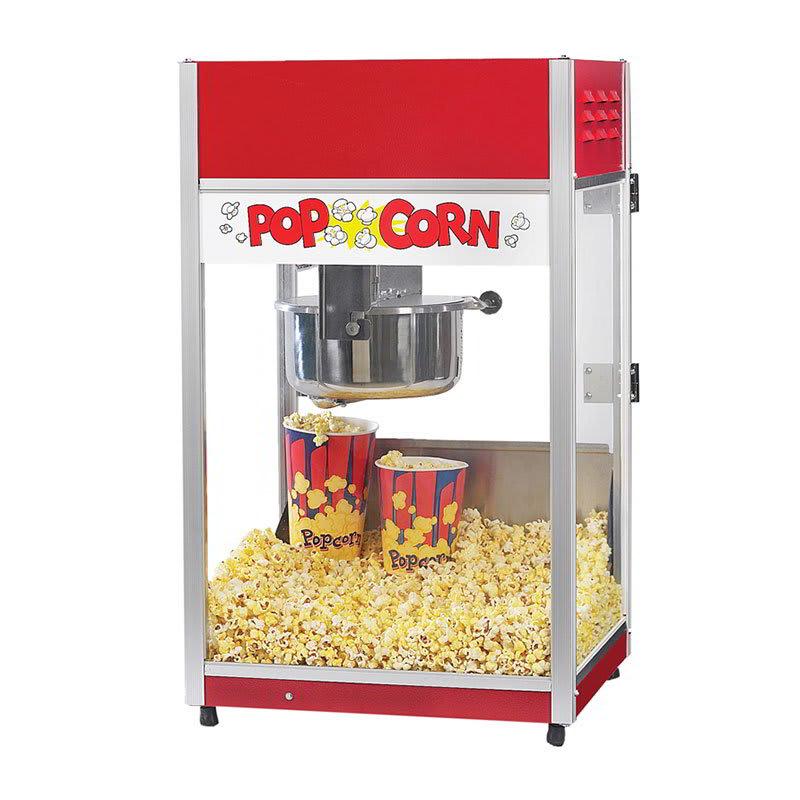 Gold Medal 2656CT 120208 Total Pop Popcorn Machine w/ 6-oz EZ Kleen Kettle & Ready Light, 120/208V