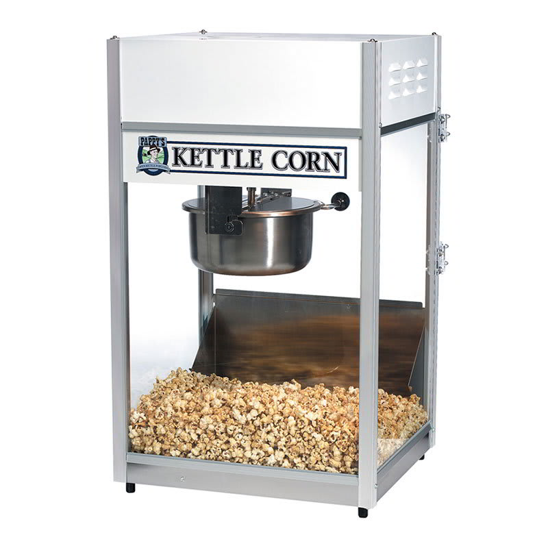 Gold Medal 2656KC Kettle Corn Ultra 60 Special w/ 6-oz Kettle & Temp. Controls, 120v