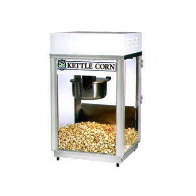 Gold Medal 2660KC Pappys Deluxe-60 Special Popcorn Machine w/ 6 oz Kettle & Heavy Duty Dome, 120v