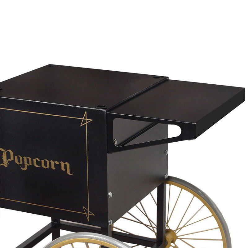 Gold Medal 2706BK Shelf for 2649 Popcorn Cart, Black