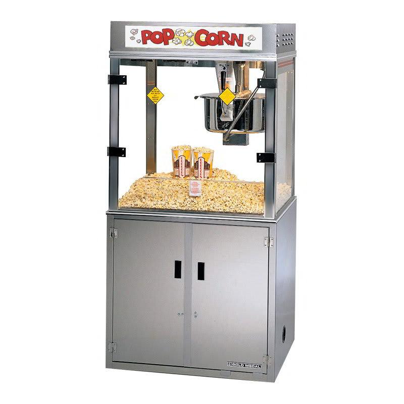 Gold Medal 2911E Medallion Popcorn Machine, 52 oz Kettle, 120/240 V