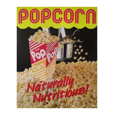 Gold Medal 2997 Popcorn Poster, Laminated