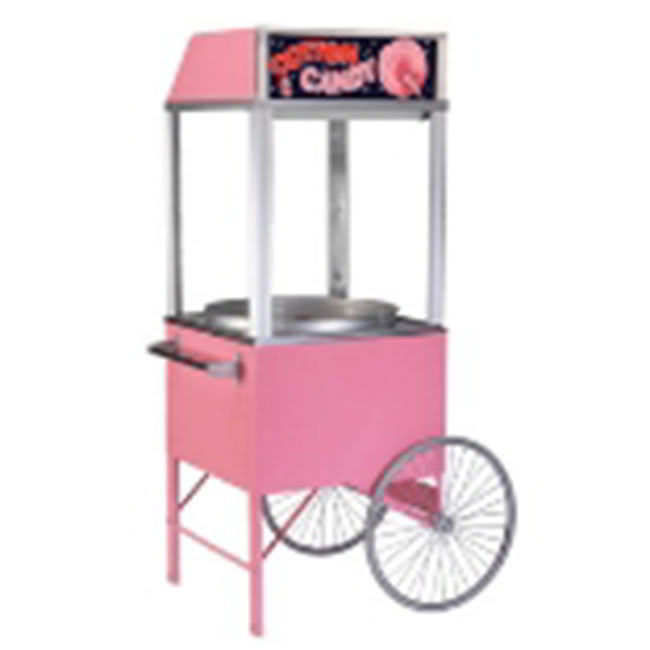 "Gold Medal 3118P Food Cart for Cotton Candy w/ Graphics, 43""L x 35""W x 38""H, Pink"