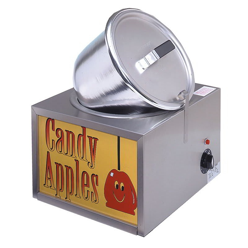Gold Medal 4016 Double Batch Candy Apple Cooker w/ Insert Pot, 120v