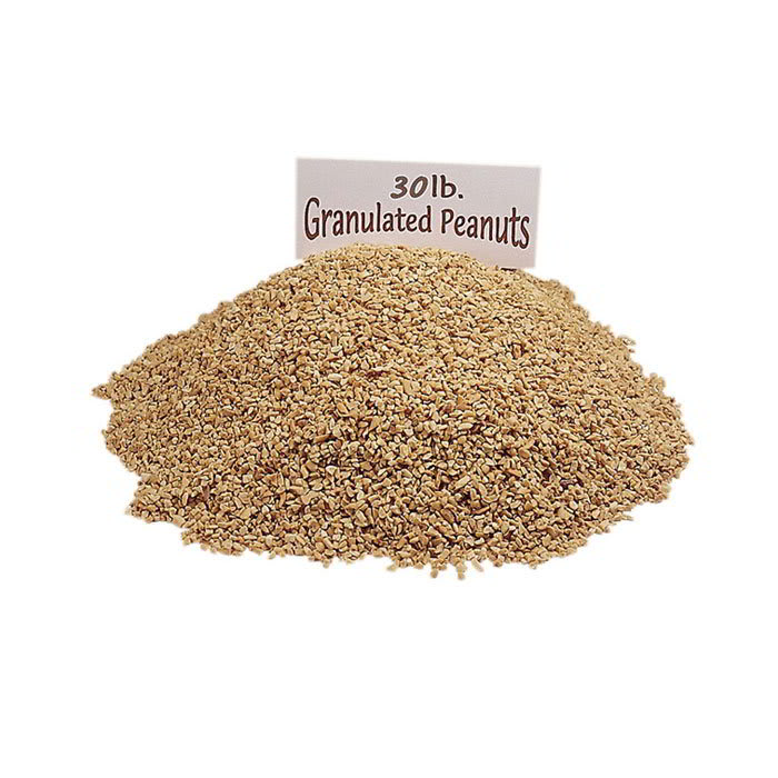 Gold Medal 4128 30 lb Granulated Peanuts Topping for Caramel Apples, Ice Cream