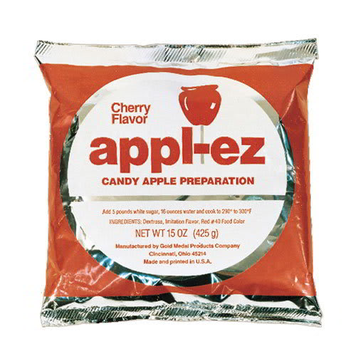Gold Medal 4144 (15) 15 oz Cherry Appl-EZ Candy Apple Mix