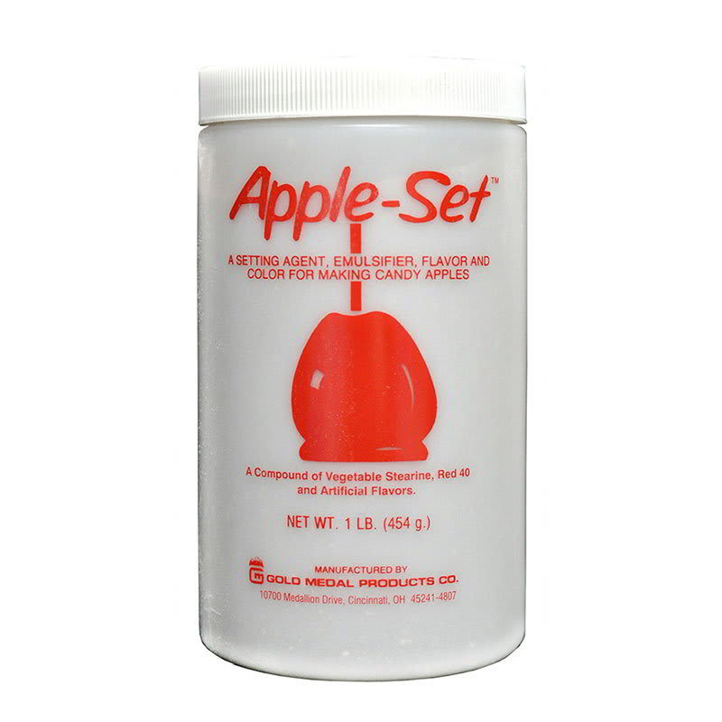 Gold Medal 4175 1 lb Can Apple-Set Setting Agent for Candy Apples