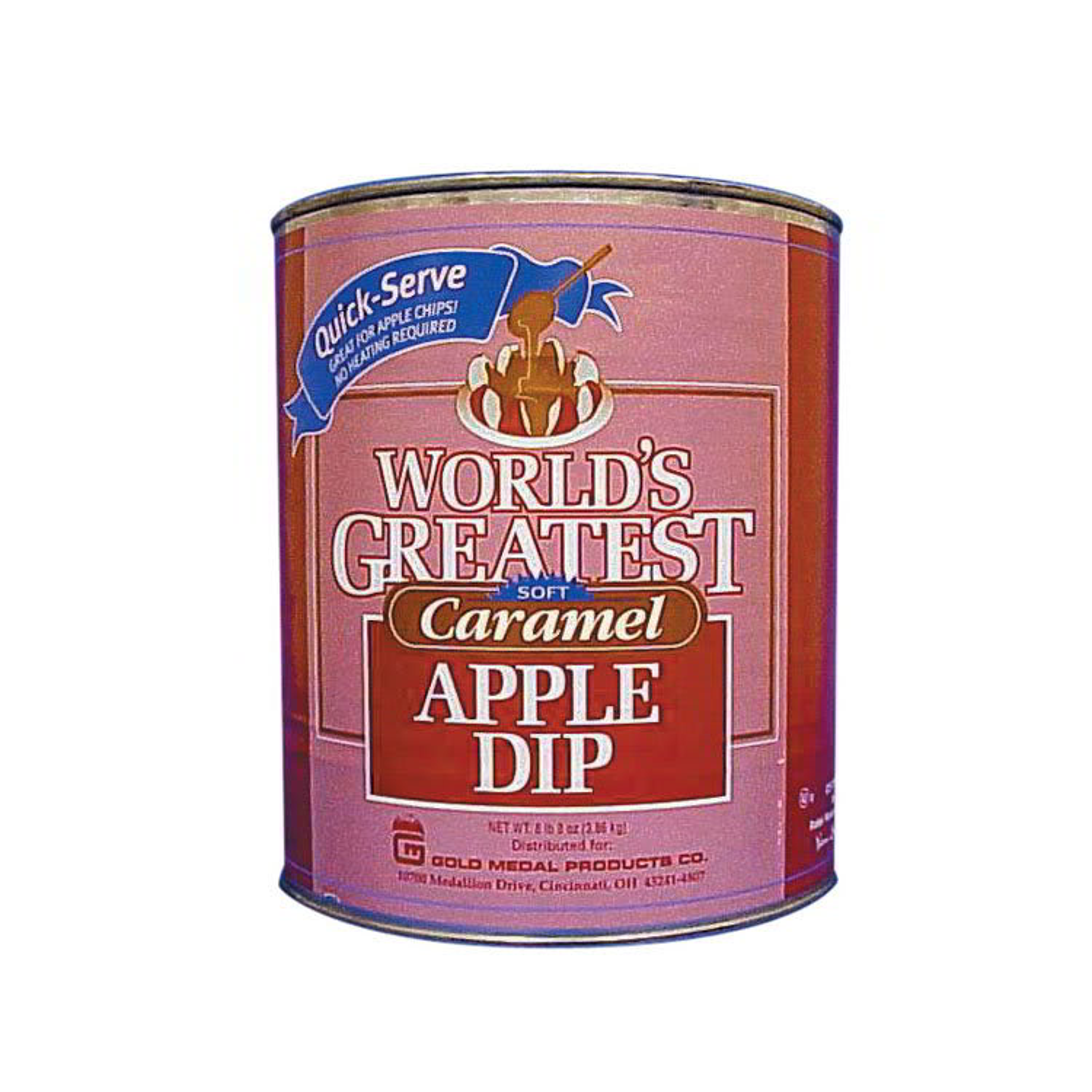 Gold Medal 4225 Caramel Apple Dip Coats 360 Apples/Case