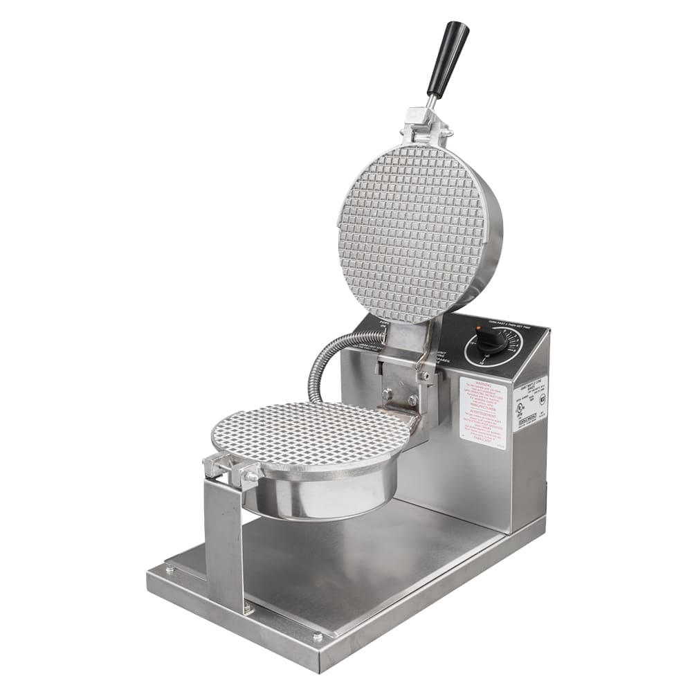 "Gold Medal 5020 Giant Waffle Cone Baker w/ 8"" Danish Grid & Push Button Controls, 120v"