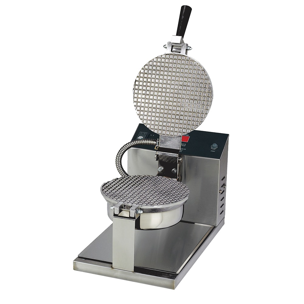 "Gold Medal 5020E Giant Waffle Cone Baker w/ 8"" Danish Grid & Electronic Controls, Stainless"